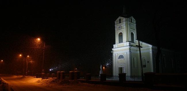 Kośiół parafialny w Jabłoni Kościelnej