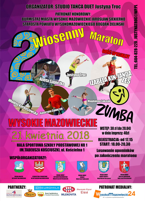 plakat maraton 2018 urzedy